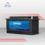 DIN75/57539 12V 75ah European Standard OEM Mf Cheap Car Battery Wholesale Saudi Arabia Car Battery