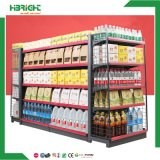 Convenience Store Supermrket Double Sided Shelf