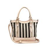 Black&White Canvas Versatile Shoulder Handbags for Women (MBNO039031)