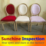Upholstered Dining Chair Pre-Shipment Inspection / Baroque Furniture Quality Inspection Services