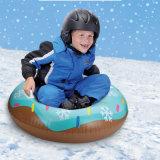 Inflatable Plastic Winter Products Sled Toys Custom Towable Sledding Equipment Donut Snow Sledge Tube Toys