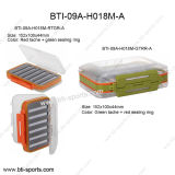 Wholesale Multi Bright-Colored Medium Size Different Foams 100% Waterproof Fly Fishing Fly Box 09A-H018m