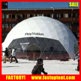 20m Galvanize Steel Tube Geodesic Dome Marquee Tent Sport Event
