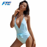 2018 Fashion Polyester Low Bust Swimsuit Beachwear