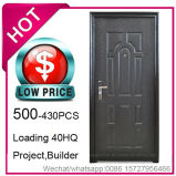 Low Price, Economy Cheap Steel Security Door for Project Building (EF-S013)