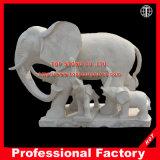 Elephant Marble Sculpture for Garden \Fountain \Home Decoration