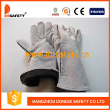 Ddsafety 2017 Natural Cow Split Welding Work Gloves