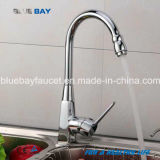 Hot New Kitchen Faucet Hot&Cold Mixer Sink Tap Brass Chrome Single Handle Hole