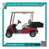 Electric Utility Car, Eg2028h, 2 Seats with Cargo Box, CE Approved