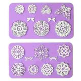 Factory Direct Cake Decoration Tool Flower Embossing Lace Fondant Mould