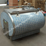 Horizontal Milk Transport Tank for Dairy Farm