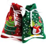 Christmas Season Decoration Gift Candy Packing Jute Bag