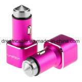Stainless Steel Dual USB Car Charger 2 Port 2.4A/3.1A/4.8A Travel Car USB Charger