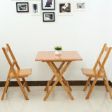 Design for Small Apartments Bamboo Folding Table