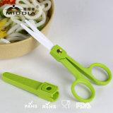 Zirconia Ceramic Baby Food Vegetable Cutting Scissors