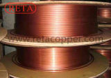 Level Wound Copper Coil Packed with Wooden Reel