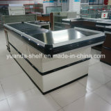 Supermarket Automatic Design Cashier Metal Checkout Counter