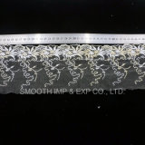 Fashion Garment Accessory Net Yarn Embroidery Lace Fabric Textile Dress