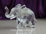 Crystal Animal Model Crystal Elephant Craft for Gift