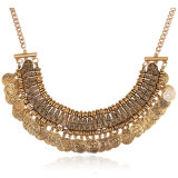 Tassel Coin Necklace Antique Chokers Alloy Fashion Necklace Jewelry