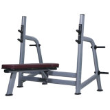 Platform Support Olympic Flat Bench Fitness Equipments