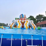 China Cheap Inflatable Mobile Water Play Park Slide