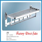 Sanitary Ware Chroming Color Bathroom Towel Rack (J35)