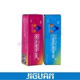 Glossy Waterproof Screw 10ml Glass Vial Packaging Paper Box for Medical