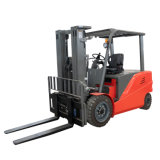 4 Wheel Battery Operated Full Electric Counterbalance Forklift Truck