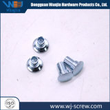 Custom Zinc Plated Steel Flat Head Step Shoulder Rivet