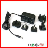 12V 2A 12V 1A 5V 1A IV Power Supply Meet UL, CSA, CE, TUV, GS, Bs, SAA, PSE, Ek, FCC, Brazil, EMC, LVD. CB, IV, EU Interchangeable Power Adapter