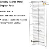Metal Display Racks for Grocery Stores