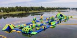 Crazy Fun Inflatable Water Games, Mobile Water Amusement Park