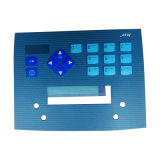 Embossed Circuit Printing CNC Overlay Keyboard Membrane Switch