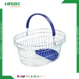 Special Design Store Metal Wire Shopping Basket