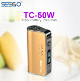 Hot Product Seego Tc-50W Box Mod Vape Battery