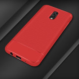 New Carbon Fiber TPU Phone Case for Samsung J7 Plus