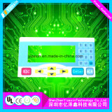 Printing Adhesive Waterproof Membrane Switch Panel for Machine