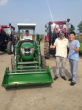 25 40HP 45HP 50HP Agriculture Mini Farm Tractor with Front Disc Plow/Harrow/Loder