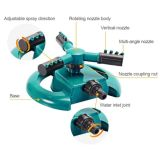 High Quality 3 Arm Garden Lawn Watering Sprinkler for Irrigation System