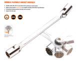 Double Flexible Socket Wrench, Socket Wrench