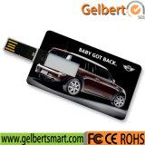 Plastic Business Credit Card USB Flash Drive for Custom Logo Company Gift