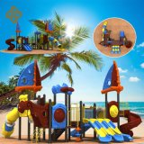 Shanghai Expo Hot Sales Large Pirate Ship Kids Outdoor Playground