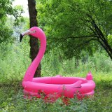 Inflatable PVC Flamingo Swimming Pool