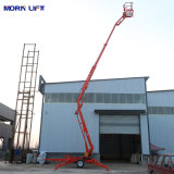10m-22m Hydraulic Tow Behind/Towable/Trailer Mounted Telescopic/Articulating Electric Boom Man Lift Cherry Picker Lift Spider Aerial Work Platform Lift