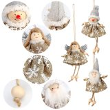 2018 Santa Claus Hanging Ornaments 3PCS/Sets