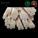 Thermocouple Alumina Ceramic Insulating Tube with One Hole Two or More Holes