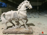 Granite Stone Horse Animal Statue/Sculpture for Garden Decoration