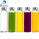 Hot Sales 300ml Water Bottle with Stainless Steel Cap