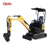 Hydraulic Excavator Mini Excavators Small Crawler Digger CE China 1ton 2 Ton 3ton Excavators